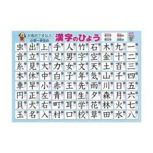 漢字 学習ポスター A3サイズ (420×297mm)【日本製 知育玩具 A3 ポスター 学習ポスター】|aroma-etoile