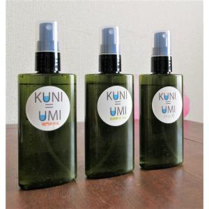 KUNI=UMI 3種セット 淡路島産 芳香蒸留水 月桂樹 鳴門みかん ハッカ|aromadressing