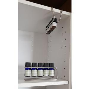 ワイヤー アロマオイルスタンド 2個セット 精油立て アロマオイル置き |aromadressing