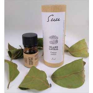Suu 国産エッセンシャルオイル アイランドローレル(月桂樹) 農薬を使わず手摘みで収穫 aromadressing