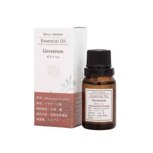 デイリーアロマ ラージゼラニウム 10ml 精油 アロマオイル AEAJ認定 日本アロマ環境協会表示基準適合 aromagestore