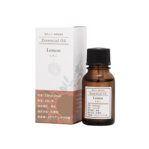 デイリーアロマ ラージレモン 10ml 精油 アロマオイル AEAJ認定 日本アロマ環境協会表示基準適合 aromagestore