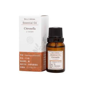 デイリーアロマ ラージシトロネラ 10ml 精油 アロマオイル AEAJ認定 日本アロマ環境協会表示基準適合 aromagestore