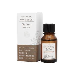 デイリーアロマ ラージティートリー 10ml 精油 アロマオイル AEAJ認定 日本アロマ環境協会表示基準適合 aromagestore