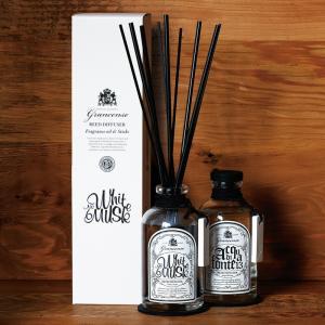 grancense ディフューザー送料無料 芳香剤 スティック おしゃれ ディフューザー ガラスボトル ルームフレグランス アロマ シンプル メンズ ユニセックス|aromagestore