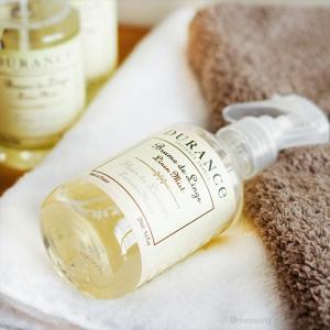 デュランス リネンミスト 250mL 除菌 アロマ DURANCE スプレー ボトル アルコール フランス産|aromagestore