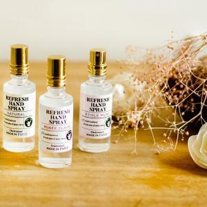 アロマリン L'Aromarine リフレッシュハンドスプレー アルコール 除菌 80%アルコール 素敵な香り 4994228029997|aromagestore