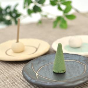 お香 香台 和 やわらぎ 香皿 香立て 和風 かわいい 手作り ハンドメイド|aromagestore