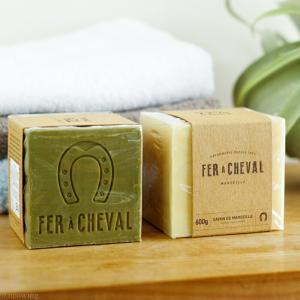 せっけん オリーブ FER a CHEVAL フェールシュヴァル 香料・着色料・防腐剤不使用 マルセイユソープ600g|aromagestore