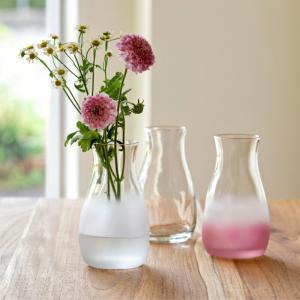 花瓶 おしゃれ 一輪挿し Tebineri てびねり 日本製 Tebineri ミニ花器 石塚硝子 アデリア ガラス SL-PN SL-BL aromagestore