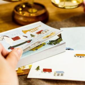 ブロックメモ かわいい おしゃれ cozyca products 日本製 浅野みどり boranical season TOYS メモ帳 文房具 メール便|aromagestore