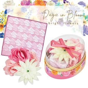 母の日 プレゼント 実用的 サンクスオーバルギフト ローズ セット 入浴剤 ミニタオル バスフラワー Days in Bloom aromagestore