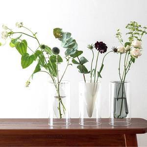 花瓶 おしゃれ FLOAT VASE フロートベース ガラス インテリア雑貨 キッチン 玄関 一輪挿し aromagestore