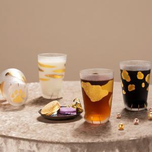 ねこ グラス タンブラー 日本製 coconeco premium ここねこ プレミアム ギフト premium ミケ トラ ヒョウ ビアグラス 石塚硝子 aromagestore
