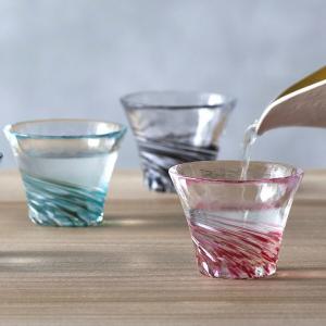 津軽びいどろ ガラス おちょこ グラス お酒 盃コレクション 日本製 ギフト プレゼント セット おしゃれ aromagestore