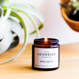 キャンドル おしゃれ アロマ GEODESIS ジェオデジス フレグランス ジャーキャンドル 90g ギフト プレゼント|aromagestore