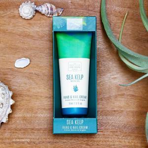 ハンド&ネイルクリーム SCOTTISH FINE SOAPS スコティッシュファインソープ シーケルプ 乾燥しがちな手指に海藻エキスで潤いを|aromagestore