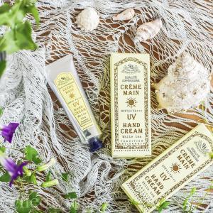 【大人気のサンタール・エ・ボーテ夏季限定商品】フレンチクラシック UVハンドクリーム SPF40 PA+++ フランス産 ハンドケア いい香り|aromagestore