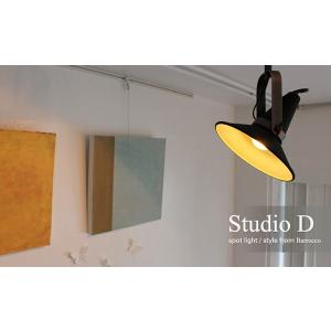 送料無料 Studio D spot light スタジオD スポットライト デザイン照明器具のDI CLASSE(ディクラッセ)|aromainterior