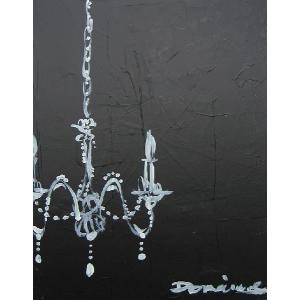 送料無料 おしゃれ インテリアアート 絵画 art Domei シリーズ black shante p15 ウッドパネルグレー aromainterior