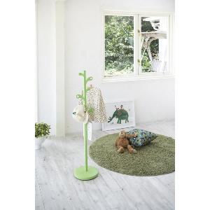 キッズ ポールハンガー リーフ コート 掛け Sサイズ グリーン 緑 北欧 デザイン インテリア  |aromainterior