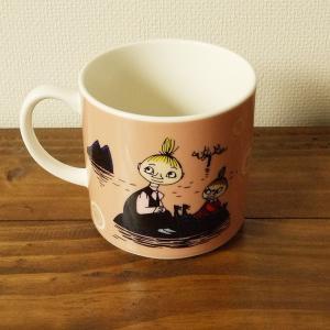 ムーミン マグカップ フローレン プリマドンナの馬 ミィ ミムラ姉さん ピンク 日本製|aromainterior