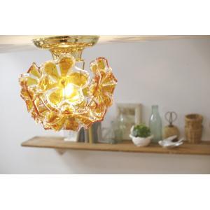 シーリングライト BOUQUET Amber ランプ LED電球対応 天井 照明 おしゃれ 送料無料 キシマ|aromainterior