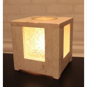アロマランプ  間接 照明 おしゃれ ストーン ガラス コンセント コード オイル キシマ DICIA|aromainterior