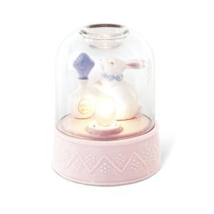 アロマティックドーム アロマランプ ウサギ キシマ コンセント コード式 ガラス 癒し かわいい 送料無料|aromainterior