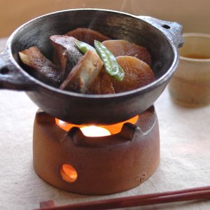 小石原焼き陶器フードウォーマー ティーウォーマー|aromaroom
