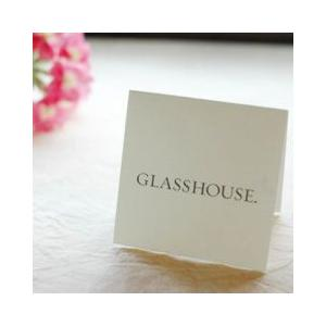 メッセージカード2 グラスハウスタイプ|aromaroom