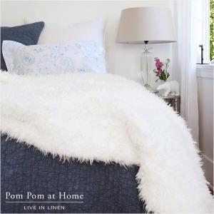 ブランケット ひざ掛け Pom Pom at Home トゥーラスロー 152x229cm aromaroom
