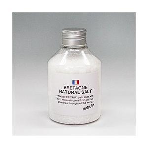 バスソルト ブルターニュ ナチュラルソルト 190g|aromatherapy