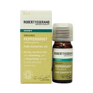 アロマオイル 精油  ロバートティスランド ペパーミント オーガニック 9ml|aromatherapy