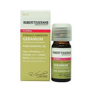 アロマオイル 精油  ロバートティスランド ゼラニウム 9ml|aromatherapy