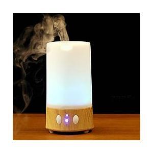 アロマディフューザー スクエア Wooden Finish オーク aromatherapy
