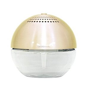 アロマ 空気清浄機 risaccaリサッカ L ゴールド|aromatherapy