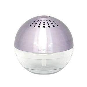 アロマ 空気清浄機 risaccaリサッカ S ピンク|aromatherapy