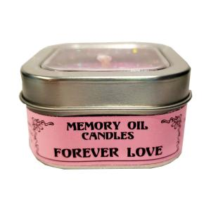 【入荷しました】メモリーオイルキャンドル【永遠の愛 Forever Love】人生に新しい愛を招き入れる、愛の関係の中により大きな愛を育む。大きな愛をもたらし、自分自身を受けとらせる。愛のエネルギーがもっと流れるように道を開く