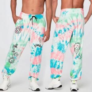ヨガウェアZUMBA ヨガパンツ ズンバウェア トレーニング フィットネス エアロビクス パンツズボン エアロビクスウェア ランニングウェア 美脚 ダンス衣装 ズボン|aromiyastore