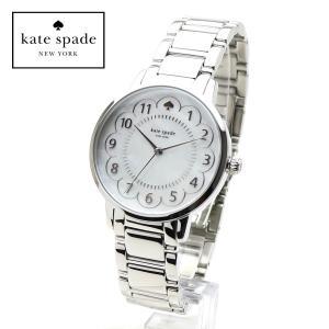 kate spade 1YRU0792 ケイトスペード 女性用 腕時計 Gramercy グラマシー シルバー ホワイトパール  レディースウォッチ ステンレス ブレスレット|around