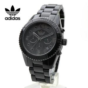 ADIDAS(アディダス)腕時計 ブラック クロノグラフ BRISBANE BRACELET ブリスベン ADH2983|around