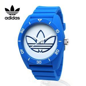 ADIDAS アディダス 腕時計 スポーツウォッチ ミドルサイズ ブルー ホワイト SANTIAGO サンティアゴ ADH3196 青 白 ボーイズサイズ|around