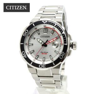 安心2年保証 CITIZEN PROMASTER エコドライブ AW1420-63A シチズン プロマスター ダイバーズ メンズ・男性用腕時計 ソーラー シルバー 白 ホワイト|around