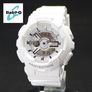 安心2年保証 Baby-G ベビージー ホワイト 白 BA-110-7A3 アナログ・デジタル CASIO カシオ|around