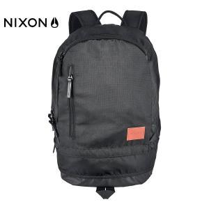 NIXON(ニクソン)RIDGE BACKPACK SE(リッジ・バックパック・スペシャルエディション) C2492-829 リュック ナイロン・ブラック・黒色 大きめ たっぷり収納 around