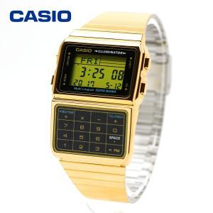 データバンク DATA BANK カシオ 腕時計 DBC-611G-1 ゴールド メンズ・レディース レディス ウォッチ 金 男性用 女性用 時計