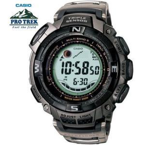 PROTREK 電波ソーラー カシオ 腕時計 メンズ パスファインダー PAW-1500T-7 around