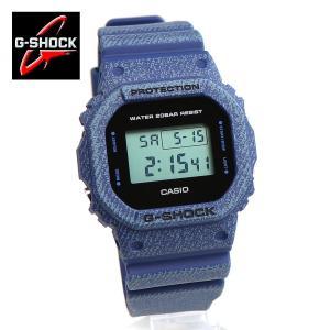 安心2年保証 CASIO G-SHOCK DW-5600DE-2 ジーショック カシオ ブルーデニム 5600 スピードモデル デニムカラー インディゴブルー ブラック|around