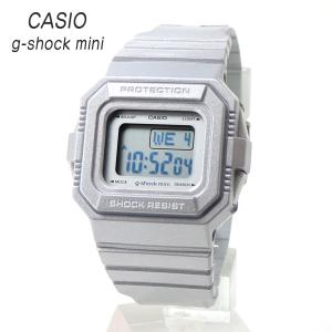 安心2年保証 CASIO G-shock mini GMN-550-8BJR カシオ ジーショック ミニ レディース キッズ スクエア デジタル メタリック シルバー グレー 防水 軽量 女性用|around